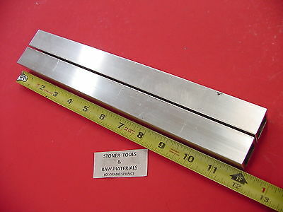 2 Pieces 1x 1x 18 Wall X 12 Long Aluminum Square Tube 6063 T52 1sq X .125