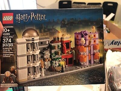 LEGO HARRY POTTER DIAGON ALLEY 40289 FACTORY SEALED NEW RETIRED LIMITED EDITION