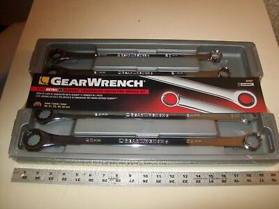 Gearwrench 5 piece Metric XL Gearbox Combo. Ratcheting Wrench Set NOS 20-25 MM ()