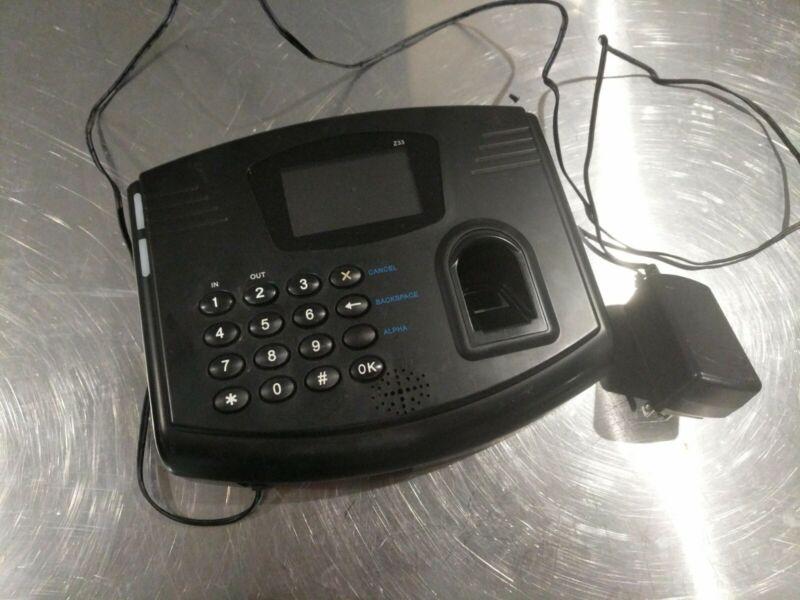 Flexclock Z33 (Rounded Model) Biometric Timeclock