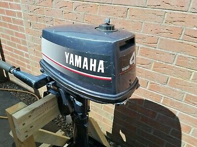 Yamaha 4hp 2 stroke outboard engine long shaft used