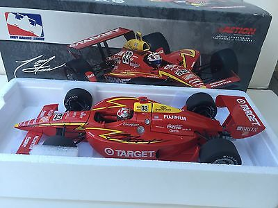 Tony Stewart   Hand Signed  Target Ganassi 2001 Double Duty  Indy 500  Race Car