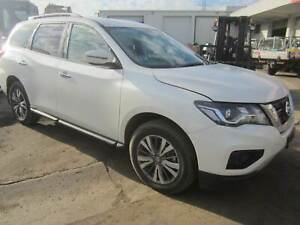NISSAN PATHFINDER R52 ST VQ35 AUTO WHITE 2018 WRECKING Brooklyn Brimbank Area Preview