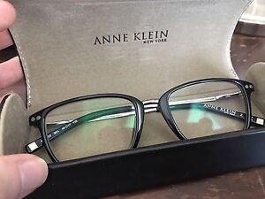 Anne Klein eyeglasses - black trendy frame