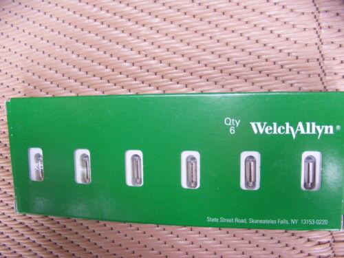 Welch Allyn 03100-U6 Lamp Package of 6 Lamps