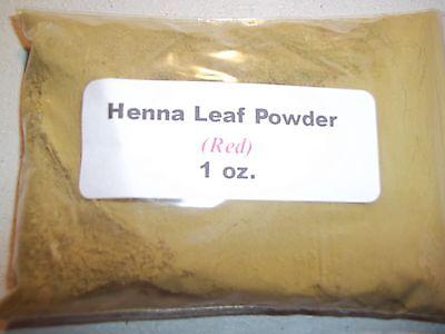 1 oz. Henna Leaf Powder (Red) - Henna Leaf Powder