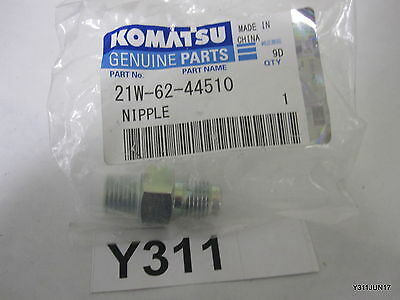 Komatsu Excavator Genuine Parts Nipple 21w-62-44510 For Pc78mr-6-n Pc78us-6-n