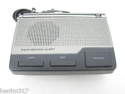 Radio Shack Weather Radio Alert 12-240 Weather 9V Battery Backup