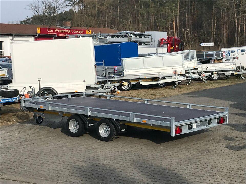 ⭐️Eduard Auto Transporter 3000kg 406x200cm Reling Rampen Winde 56 in Schöneiche bei Berlin