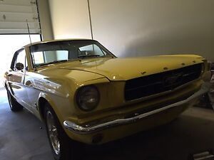 1965 mustang, sale or trade . Firm