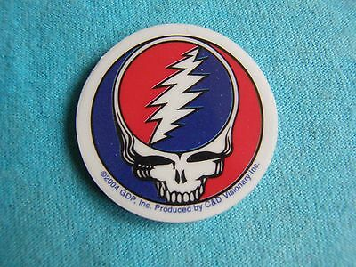 Grateful Dead Steal Your Face SYF 1.5 inch MINI Clear Window Sticker