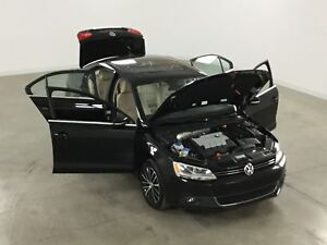 2013 Volkswagen Jetta TDi Highline GPS*Cuir*Toit Ouvrant* Automa