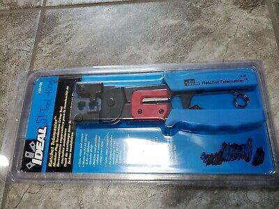 Ideal 30-696 Ratchet Crimperrj-11 Rj-4513 L