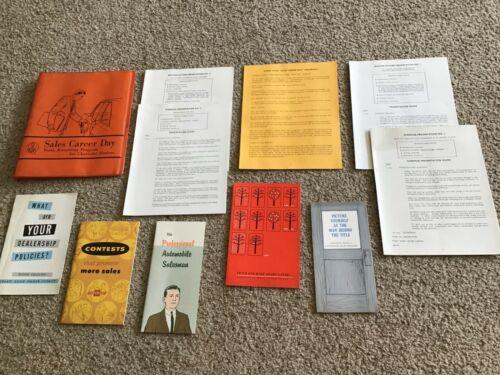 1964  Chevrolet Sales career day, youth recruiting program portfolio.