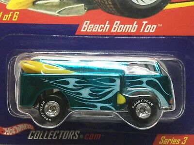 Hot Wheels HWC Series 3 Real Riders Beach Boom Too.  Goodyear real riders.