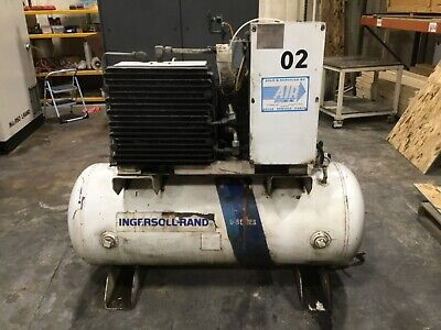 Ingersoll Rand U20h-sp Air Compressor 20hp 3 Phase 36bk