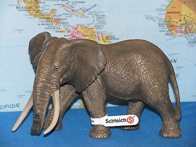 - SCHLEICH AFRICAN ELEPHANT MALE WILD ANIMALS MODEL 14656 ***BRAND NEW & RARE***