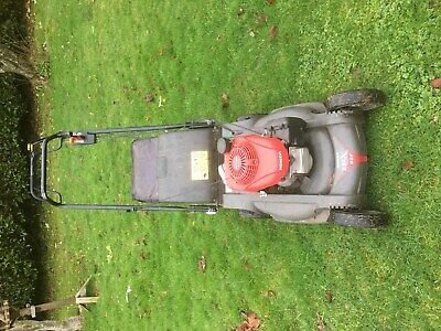 2017 Honda HRX 537 Lawn Mower with Grass Bag