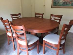 six seater expander dining table, seats four small version