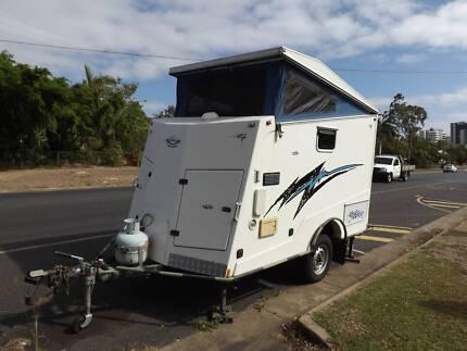 Caria Caravan off road toy hauler Allenstown Rockhampton City Preview