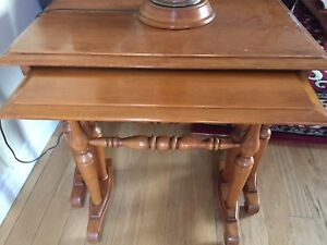 2 sets of Roxton stacking tables