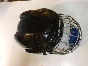 Bauer hockey helmet - used in 1 game only