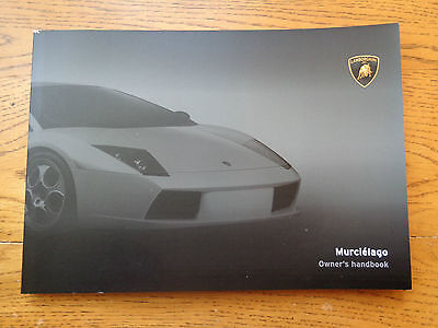 Lamborghini Murcielago NEW Owners Handbook/Manual