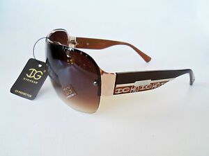 Women-Fashion-DG-Eyewear-Brown-Shield-Lens-and-Frame-Sunglasses-and-Shades