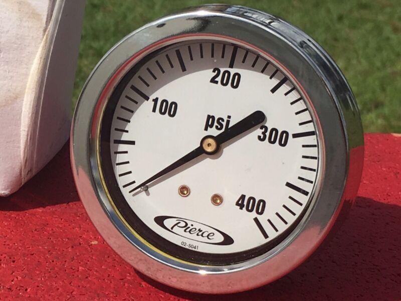Class 1 Pierce Hale Fire Service Gauge Pressure Gauge 400 PSI 02-5041 3520050