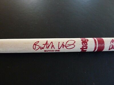 Butch Fig Garbage 100% Real Original 1998/99 Tour Issued Drum Stick Drumstick #1
