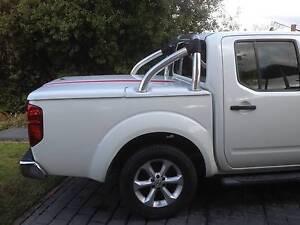 Nissan Navara D40 STX 550 Hard Lid and Sports Bar Greensborough Banyule Area Preview