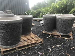 Pot 60cm designer pot plant modern pots