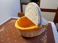 Cesto Bianco Vimini Pic-nic -  - ebay.it