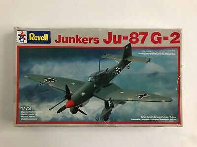 Revell Model Kit 4153 Junkers Ju-87 G-2 1/72 Air Plane Scale Plastic