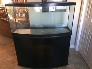 65 Gallon Oceanic Bow Front Aquarium and Stand