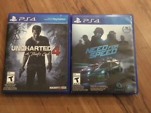 2 Ps4 game for $30 or $15 each