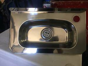 Commercial Sink Stainless Steel LWG Wall Mount Cafe Maroochydore Maroochydore Area Preview