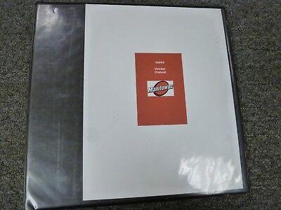Manitowoc Model 10000 Crawler Crane Shop Service Repair Vendor Manual