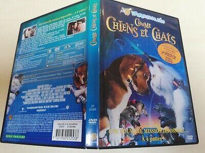 dvd enfant comme chiens et chats lire annonce pour l'état