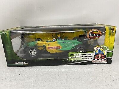 1/18 Greenlight Indy Australia Will Power Final Champ Car Win Long Beach 2008