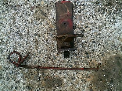 Farmall 300u 300 350 Utility Tractor Ih Step Support Bracket Brake Lock
