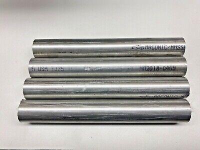 1-18 Aluminum Round 7075 T651 4 Pcs Each 8 Long