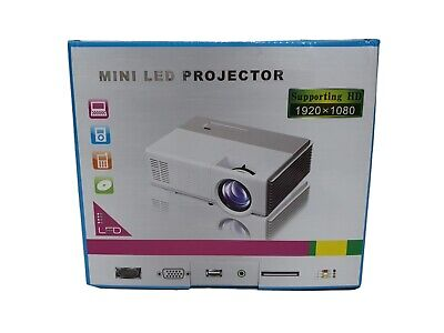 EUG 3500LMS Mini Wifi Projector 1080P Full HD Home Cinema