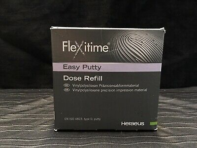 Flexitime Easy Putty Dose Refill 50034802 Kulzer Exp2020-02