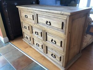 Rustic dresser/buffet and chest