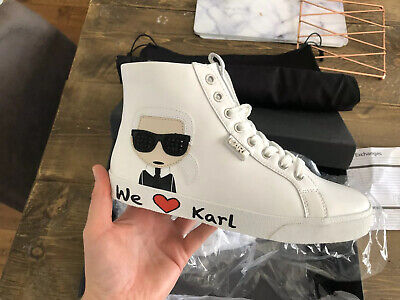 karl lagerfeld trainers Size 5 - Boxed With Branded Dust Bag