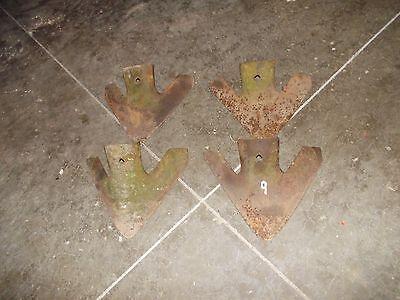 Jd John Deere Farmall Ih Ac Ford Allis Oliver 4 Cultivator 9 Shovels Sweeps