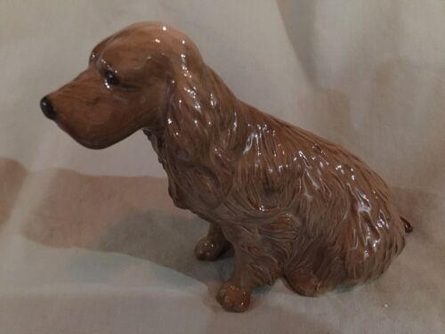 """Beswick of England Collectible - """"Brown Cocker Spaniel"""" -  - Mint Condition"""