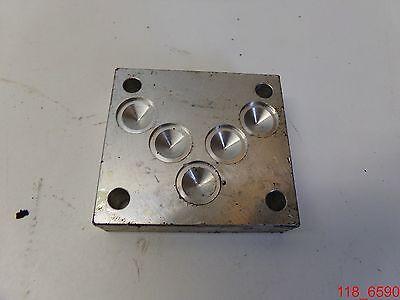 Used Daman 0596 Ad05cpp Hydraulic Manifold Adapter