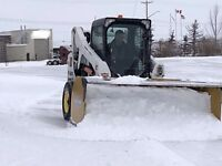 Snow removal for Lacombe, Blackfalds and area